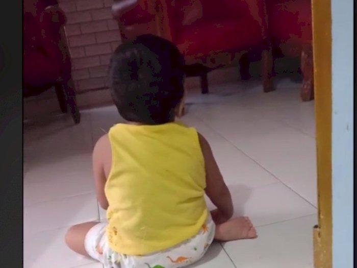 Viral Bocah 4 Tahun Belum Bisa Jalan Bikin Sedih, Banjir Doa dari Para Netizen