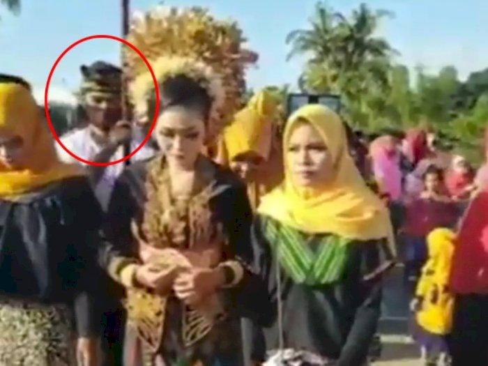 Viral Video Pengantin Wanita Menangis Peluk Mantan Kekasihnya Terkejut Jadi Pengiringnya