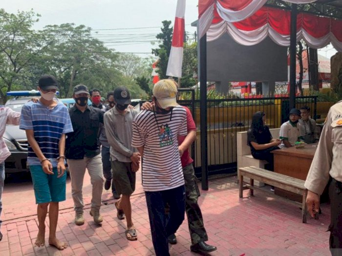 Geng Motor 'Maju Kena Mundur Kena' Diciduk Polisi Usai Begal Pemuda di Jakbar