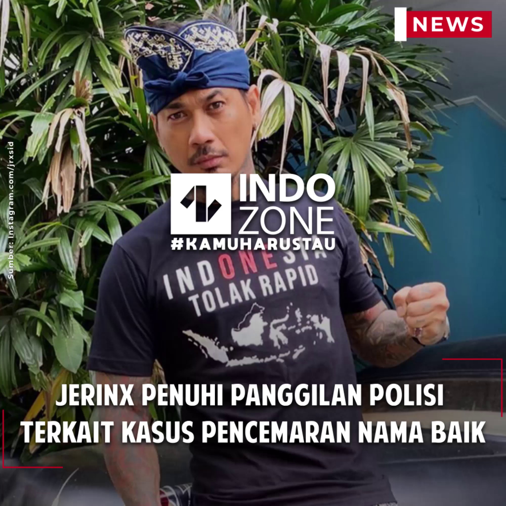 Jerinx Penuhi Panggilan Polisi  Terkait Kasus Pencemaran Nama Baik