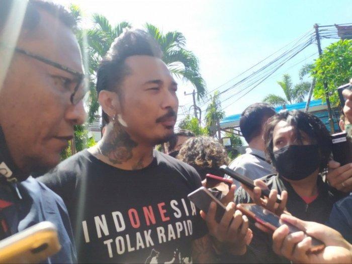 Penuhi Panggilan Polisi, Jerinx Curhat Rakyat Dipersulit Gara-gara Prosedur Rapid