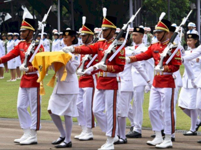 Upacara Kemerdekaan di Istana Kepresidenan Hanya Dilakukan 8 Paskibraka