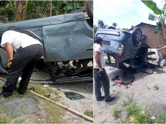 Gerebek Bandar Narkoba, Warga Serang dan Bakar Mobil Petugas BNN, Provokator Ditangkap