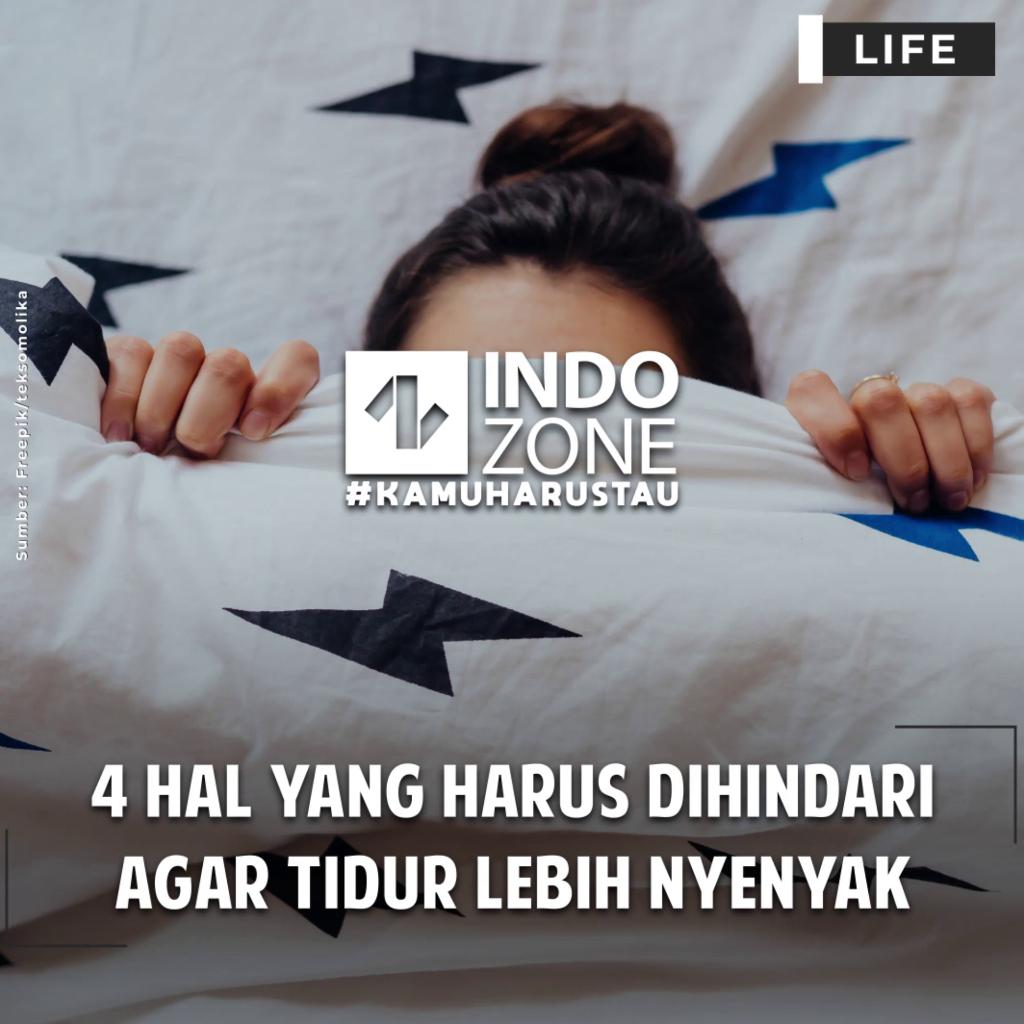 4 Hal yang Harus Dihindari agar Tidur Lebih Nyenyak