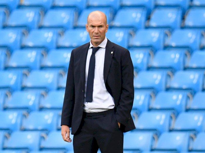 Zidane Tepis Keraguan Masa Depannya: Saya Adalah Pelatih Real Madrid!