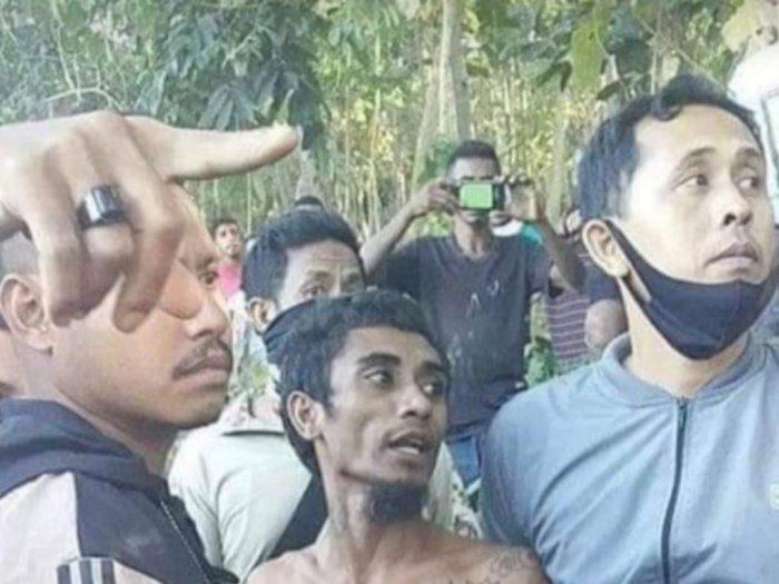 Usai Bunuh 2 Bayinya, Si Ayah Muda Sembunyi di Atas Pohon Kelapa, Polisi Terpaksa Begini