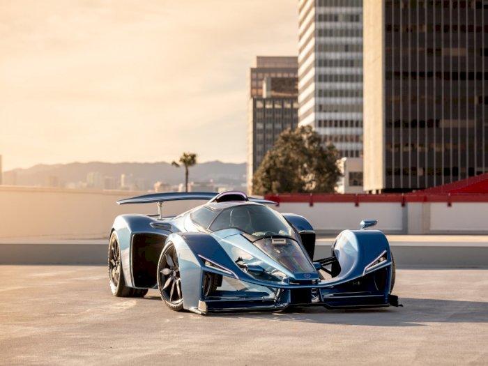 Dibanderol Rp33 Miliar, Hypercar Delage Punya Bentuk Mirip Perpaduan Jet dan Mobil F1