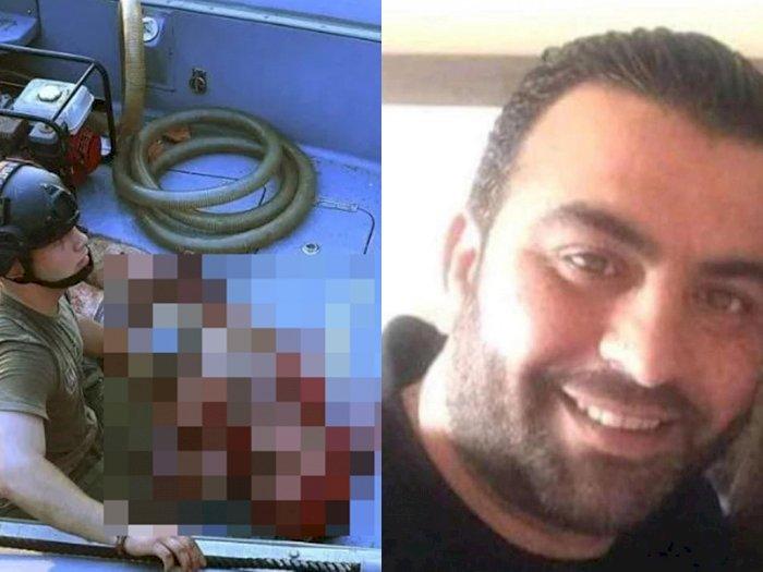 30 Jam Hilang usai Ledakan di Beirut, Pria Ini Ditemukan Selamat setelah Terlempar ke Laut