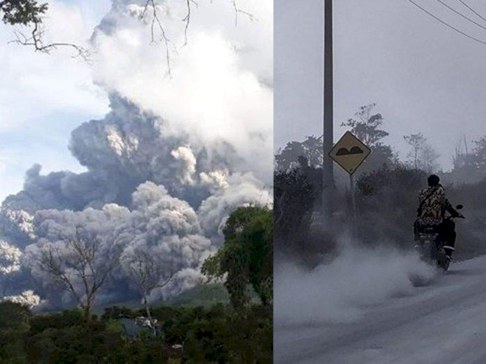 Hari Ini Gunung Sinabung Dua Kali Erupsi, Masyarakat Diimbau Waspadai Banjir Lahar