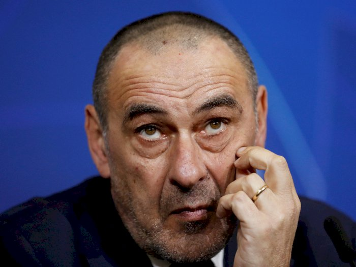 Juventus Copot Maurizio Sarri dari Kursi Kepelatihan