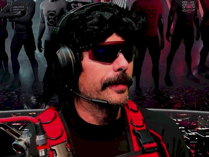 Tanggapi Keputusan Ban dari Twitch, Dr Disrespect: Saya Belum Tahu Penyebabnya