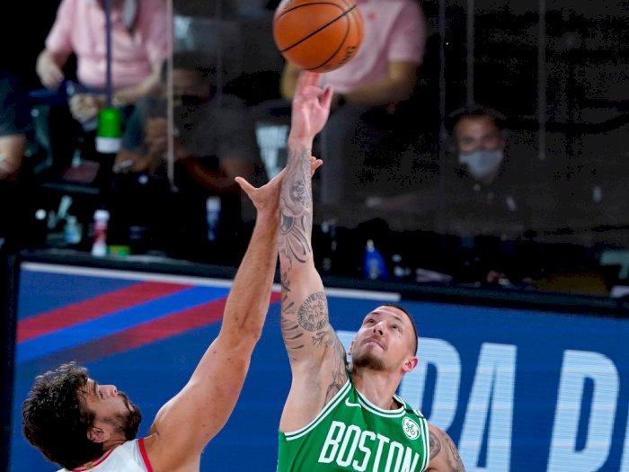 FOTO: Boston Celtics berhasil atasi Toronto Raptors 122 - 100