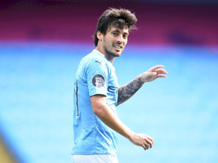 Selesai dengan Manchester City, David Silva Dikaitkan dengan Lazio