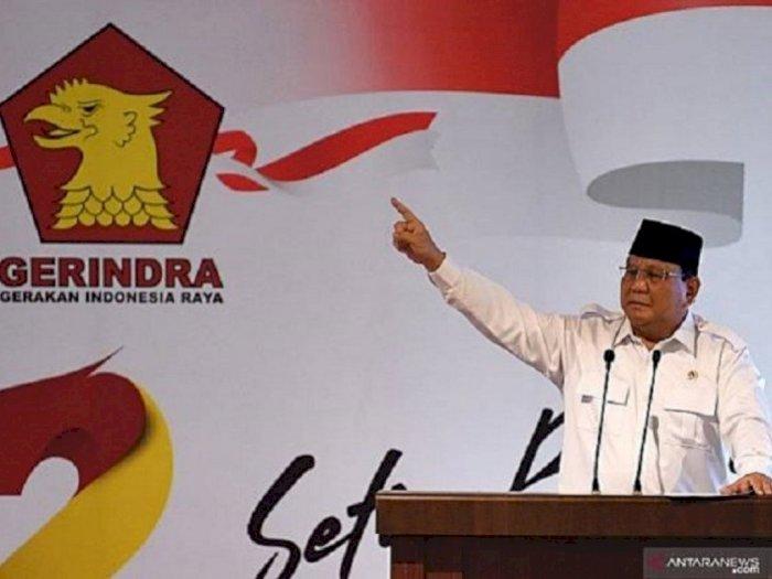 Prabowo Kembali Pimpin Partai Gerindra Hingga 2025