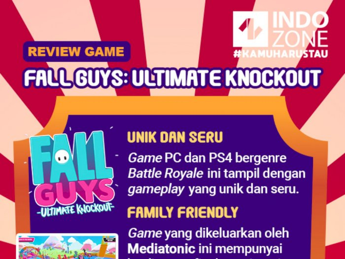 Review Game Fall Guys: Ultimate Knockout