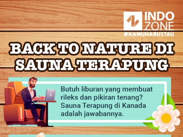 Back to Nature di Sauna Terapung