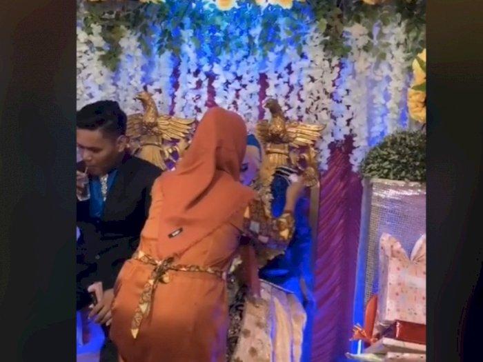 Viral Pria Hadiri Pernikahan Mantan, si Cewek Nangis di Pelaminan, Suaminya Cuma Diam