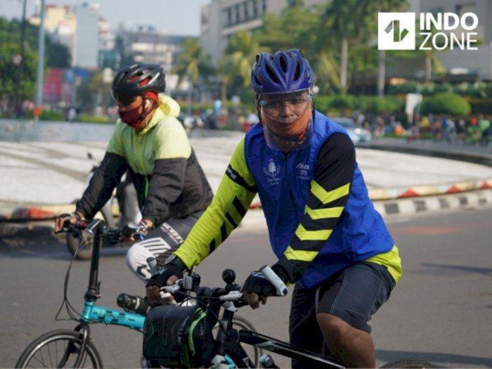 Tetap Dibuka, Ini 29 Jalur Sepeda di DKI Jakarta