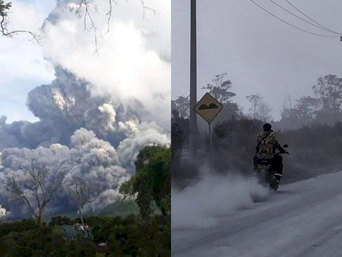 Abu Vulkanik Gunung Sinabung Diprediksi Hingga ke Malaysia, Ini Imbauan Pemerintah