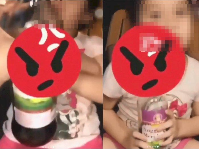 Cewek Artis Bigo Ini Berikan Miras ke Anak Kecil, Minta Maaf Usai Dihujat Netizen