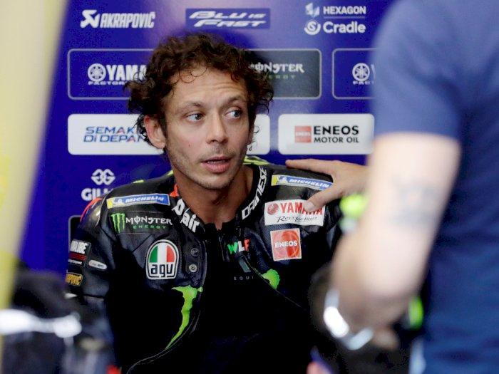 Rossi: Semua Senang Tak Ada Marquez
