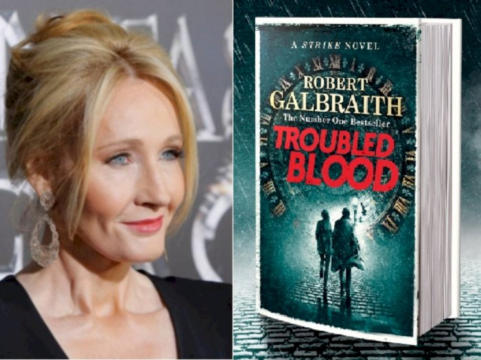 JK Rowling akan Rilis Novel Detektif Seri Kelima Cormoran Strike 'Troubled Blood'