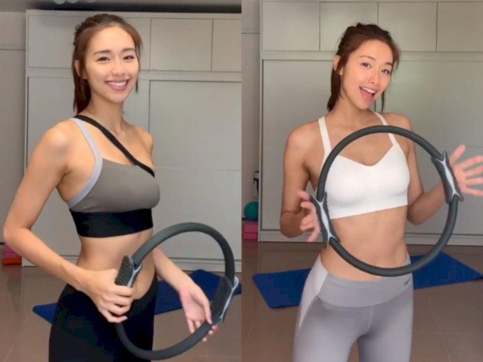 Ingin Punya Tubuh yang Indah? Yuk Coba Olahraga dengan Pilates Ring Ala Jumbo Tsang