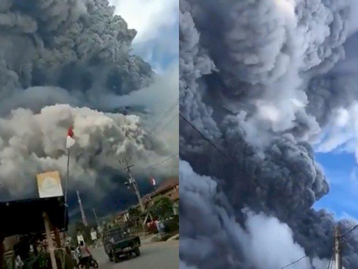 Erupsi Lagi, Gunung Sinabung Trending Topic Twitter, Jadi Perhatian Netizen Luar Negeri