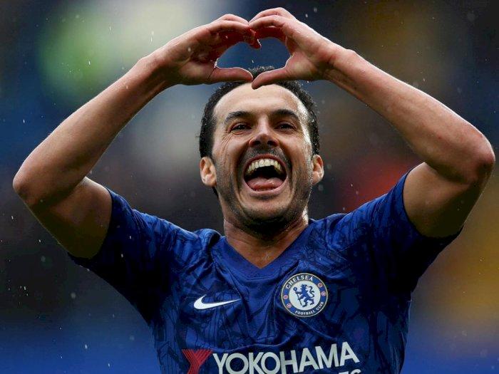 5 Tahun Bersama, Pedro Sampaikan Selamat Tinggal Pada Chelsea