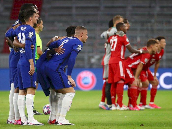 FOTO: Bayern Munich Lindas Chelsea 4-1