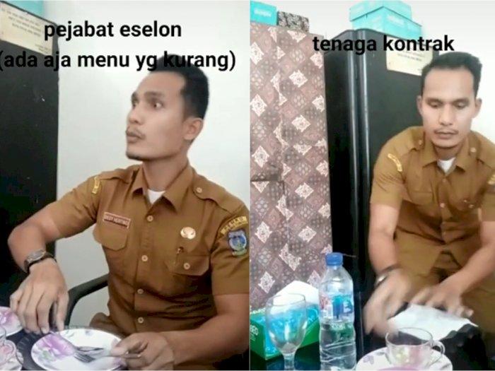 Begini Tipe-tipe PNS saat Makan di Acara Pemerintahan, Pejabat Eselon Selalu Merasa Kurang