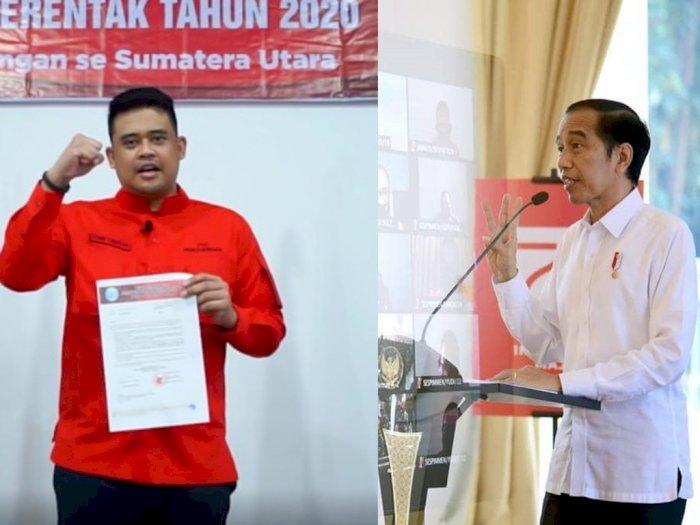 Menantu Jokowi Resmi Jadi Calon Wali Kota Medan, Bilang Terima Kasih pada Megawati & Puan