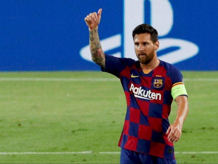 'Messi Pemain Terbaik Sepanjang Masa, Lebih Hebat dari Maradona'