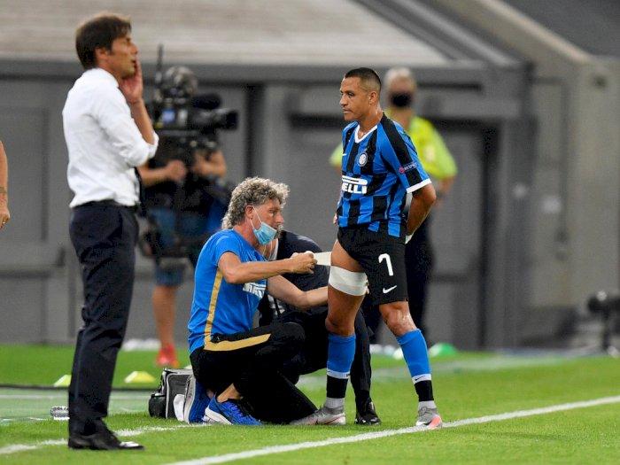 Diterpa Cedera, Alexis Sanchez Diragukan Tampil di Semifinal Liga Eropa