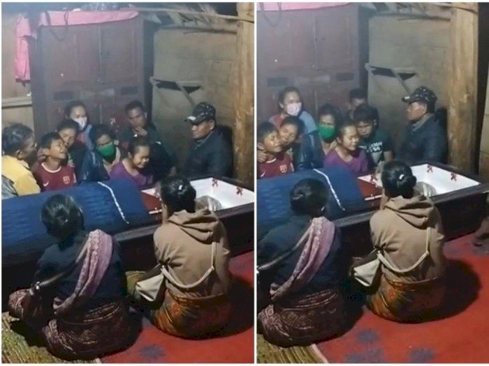 Tangisan Pilu Tujuh Bocah Ditinggal Bapaknya yang Dibunuh di Samosir