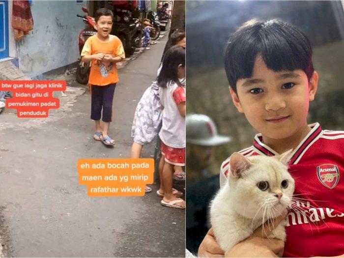 Ada 'Kembaran' Rafathar Tinggal di Gang Sempit, Netizen Soroti Perbedaan Nasibnya