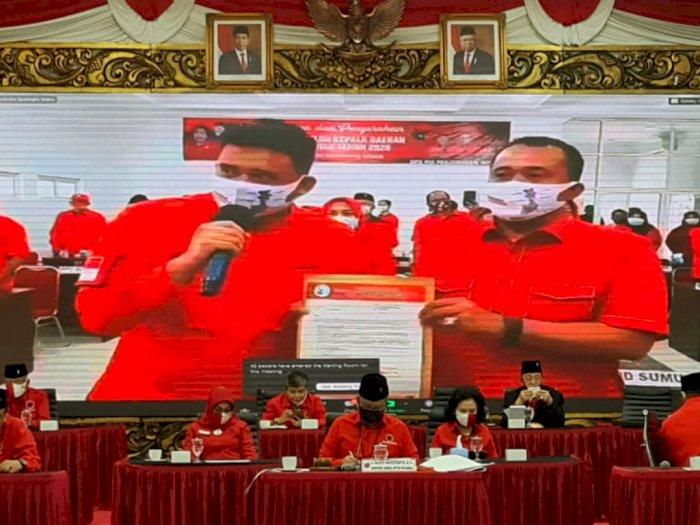 PDIP Resmi Usung Menantu Jokowi dan Keponakan Prabowo di Pilkada 2020