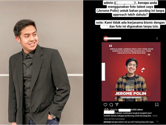 YouTuber Jerome Polin Geram Fotonya Dipakai Perusahaan Jasa Pengiriman Tanpa Izin