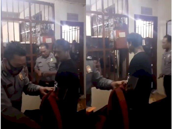 Video Saat Jerinx SID Ditahan Polda Bali Karena Pencemaran Nama Baik, Begini Ekspresinya