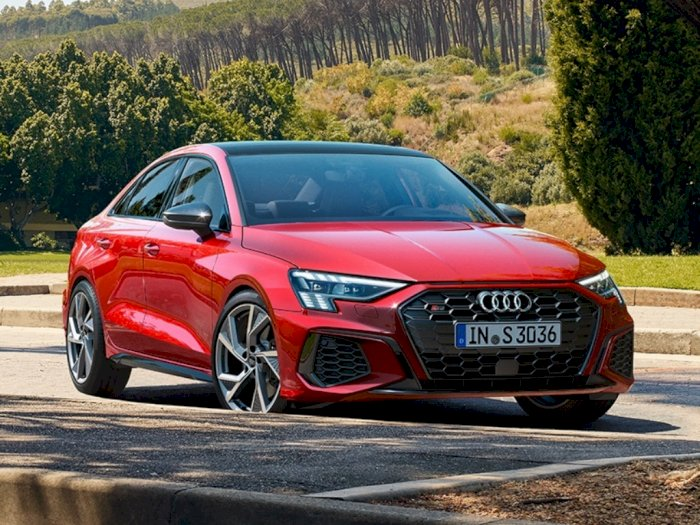 Garangnya Audi S3 2022 yang Punya Tenaga Lebih dari 300 Horsepower