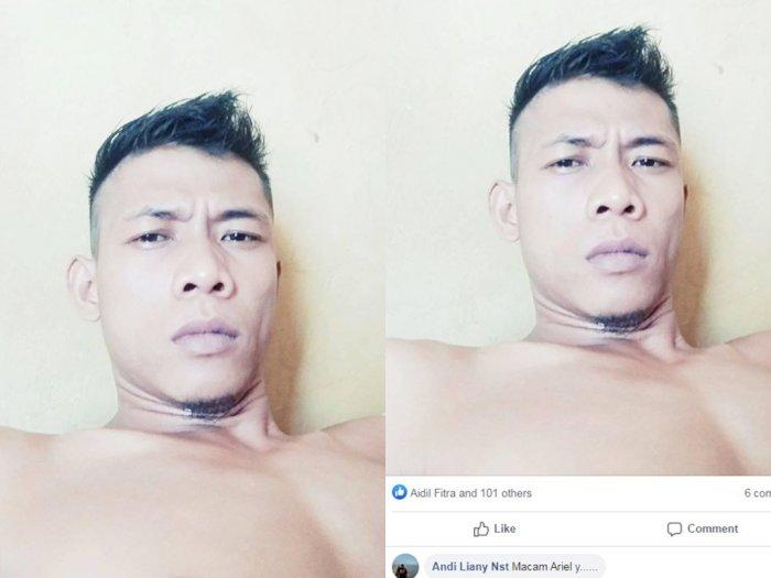 Pemuda Mirip Ariel Noah, Kali Ini di Sumatera Utara, Aslinya Begini