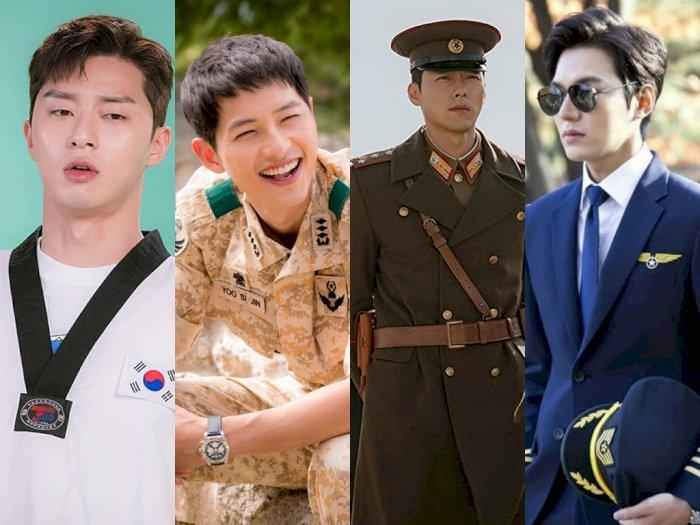 8Aktor Drama Korea yang Cocok Dalam Seragam Mereka