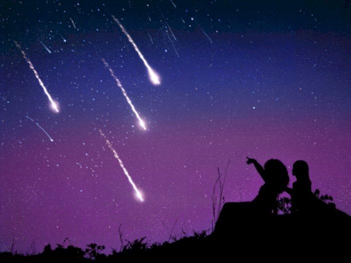 Puncak Hujan Meteor Terjadi Mulai Tengah Malam Ini Sampai Subuh