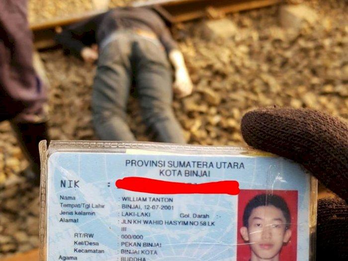 Pemuda 19 Tahun Tewas Dilindas Kereta Api di Jakarta, Kepalanya Terpisah dari Badan
