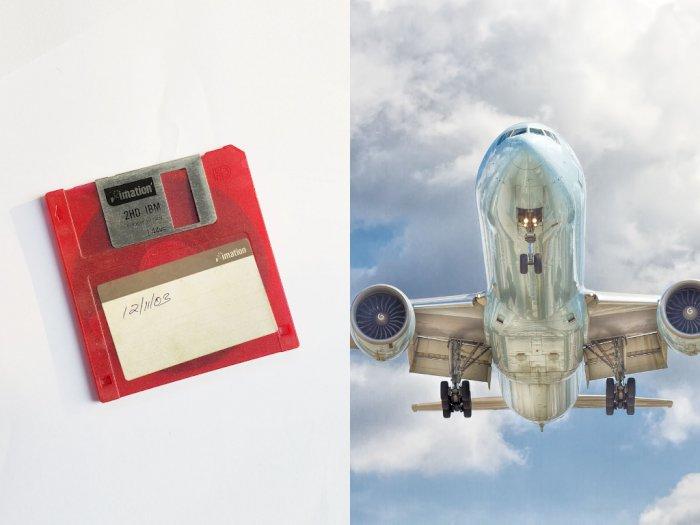 Pesawat Boeing 747 Masih Gunakan Floppy Disk untuk Dapatkan Update Software
