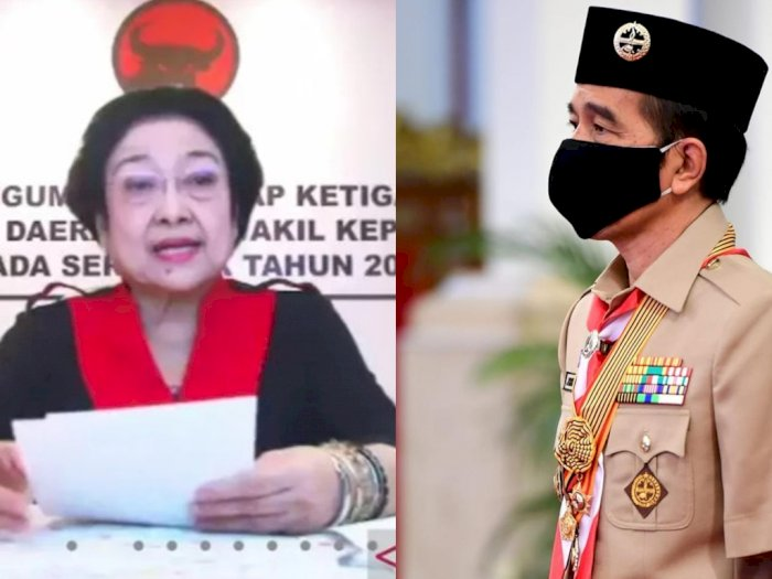 Jokowi Beri Tanda Jasa untuk Megawati Soekarnoputri, SBY Tidak, Begini Klaim PDIP