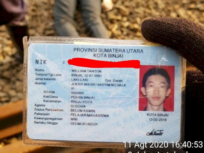 Ada Pesan dalam Amplop si Pemuda yang Tewas Dilindas Kereta Api di Jakarta, Ini Isinya