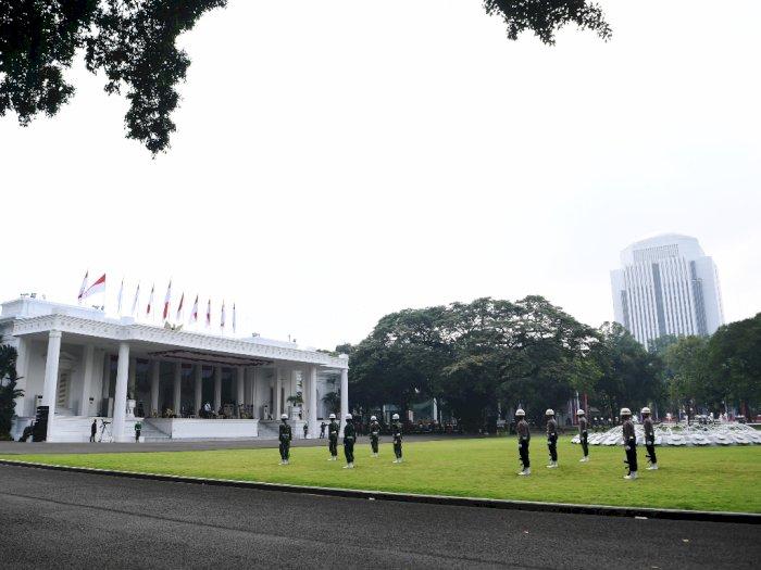 FOTO: Gladi Upacara Peringatan Detik-detik Proklamasi Kemerdekaan RI