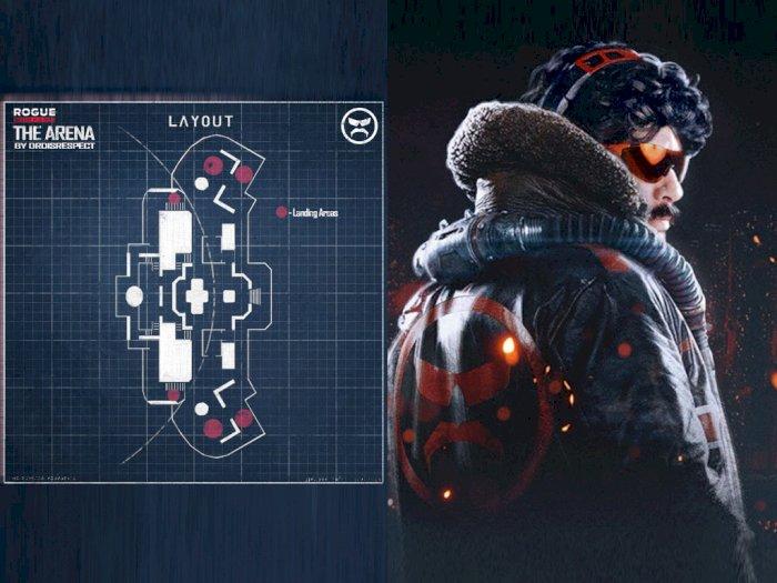 Dr Disrespect Diberi Kesempatan untuk Rancang Map Baru dari Rogue Company!