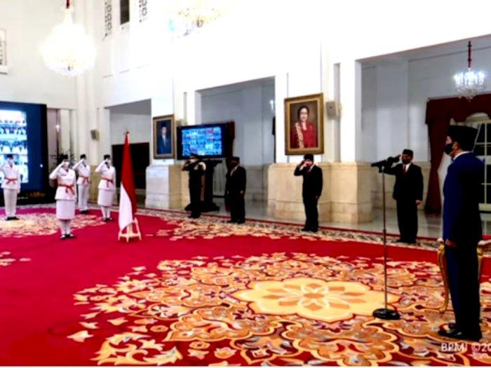 Ini Delapan Anggota Paskibraka Nasional 2020 yang Dikukuhkan Presiden Jokowi